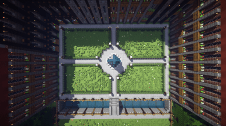 square town map minecraft pvp diamonds planetminecraft