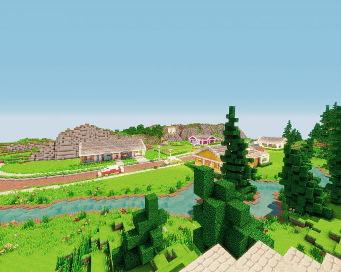 Fallout Sanctuary Hills Minecraft Project