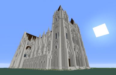 gothic church minecraft diamonds planetminecraft