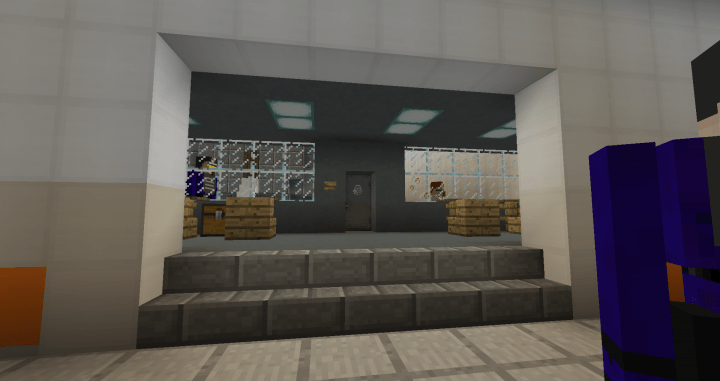 SCP-002 The living Room Minecraft Map