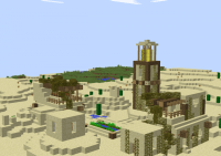 Desert Village Survival Map Minecraft Project