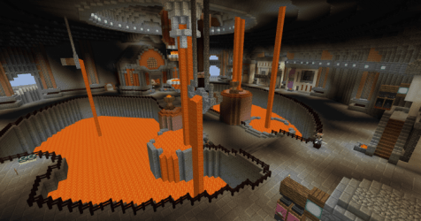 ironforge forge warcraft minecraft build inspired project screenshot