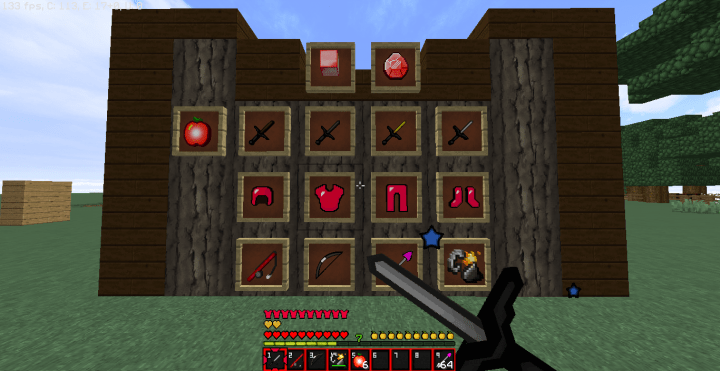 Skins Pvp Minecraft Red