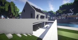 Maison Moderne Modern House Minecraft Map