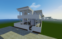 Minecraft Modern Concept House Project