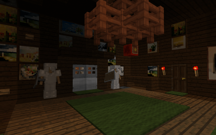 Minecraft Mansion Map Luigis Adventure