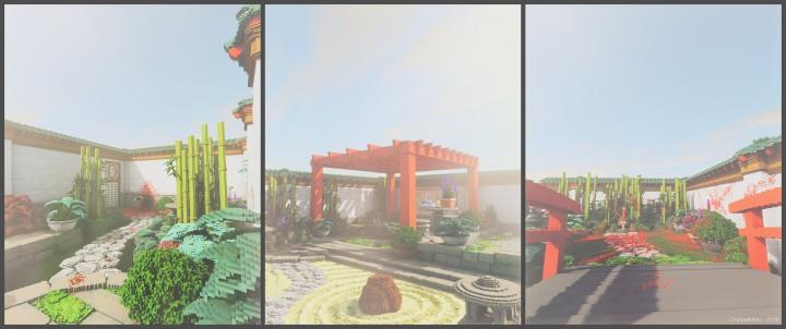 How Build Zen Garden Minecraft