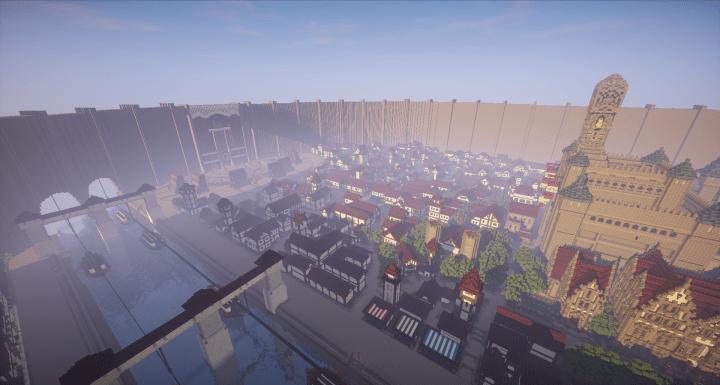 Attack On Titan Minecraft Server