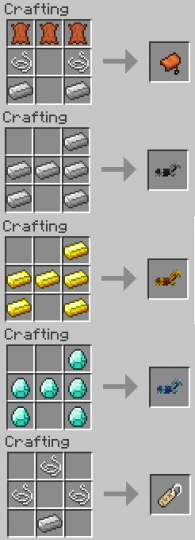 1 12 2 Craft Saddles Horse Armor Name Tags And Leads Minecraft Mod