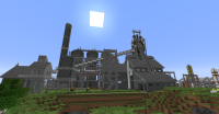 Steel Blast Furnace No. 1 Minecraft Project