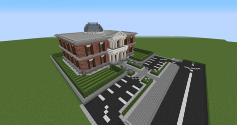 hall easy meeting minecraft building