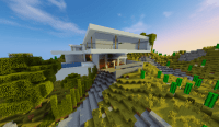 Hillside House *KB* Minecraft Project