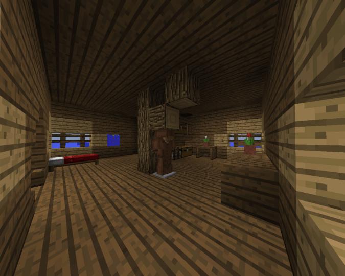 Minecraft Fisherman Hut