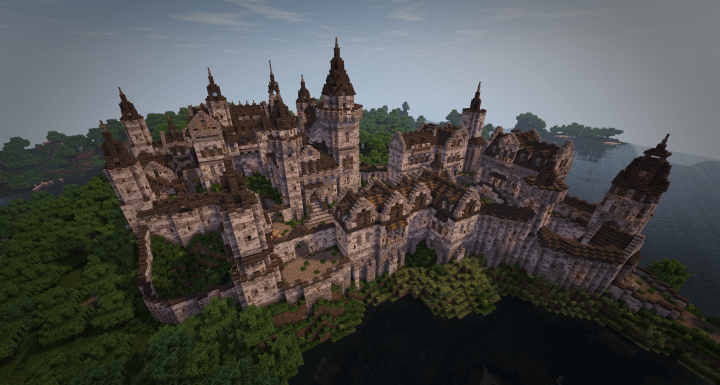 Realistic Medieval Castle 2 With InteriorDownload