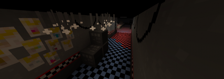 Five Nights At Freddys Maps FNaF 1 Minecraft Project
