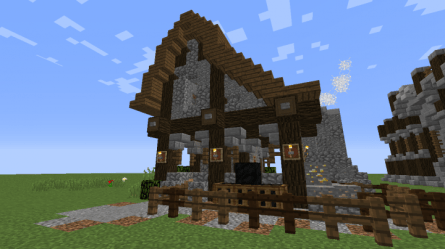 forge minecraft rustic build blacksmith screenshots screenshot diamonds forums