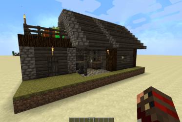 Villager Blacksmith Survival Improvement Minecraft Map
