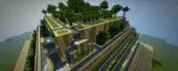 Babylon Garden/Desert Pyramid Garden Minecraft Project