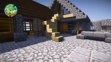 How to Transform a Minecraft Village Blacksmith Minecraft