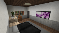 Modern Apartment Building 4 (full interior) Minecraft Project