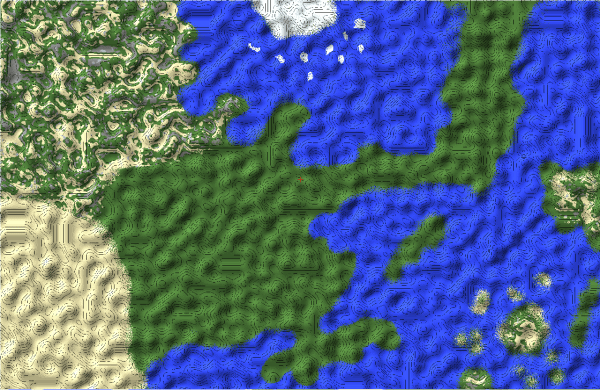 Minecraft Naruto Map - Exploring Mars