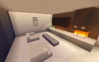 8 Small Modern Living Room Design Minecraft Project
