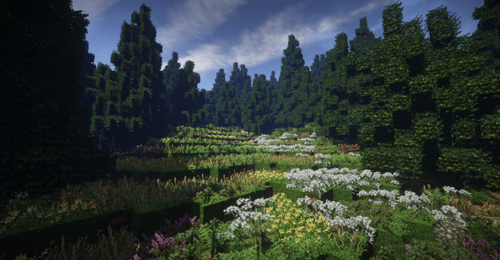 This is the only biome to find snowy foxes! Taiga Forest 2000x2000 Conquestreforged Weareconquest Minecraft Map