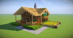 Minecraft Starter House Tutorial [EASY] How to build a house IN MINECRAFT Minecraft Map