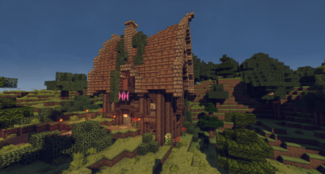Cute Small Medieval House Minecraft