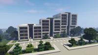 Modern Apartment Building 5 (full interior) Minecraft Project