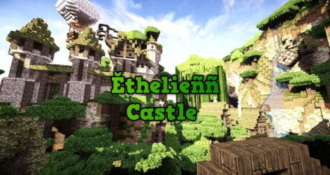 Ĕthelieññ Elven Castle and Village Minecraft Map