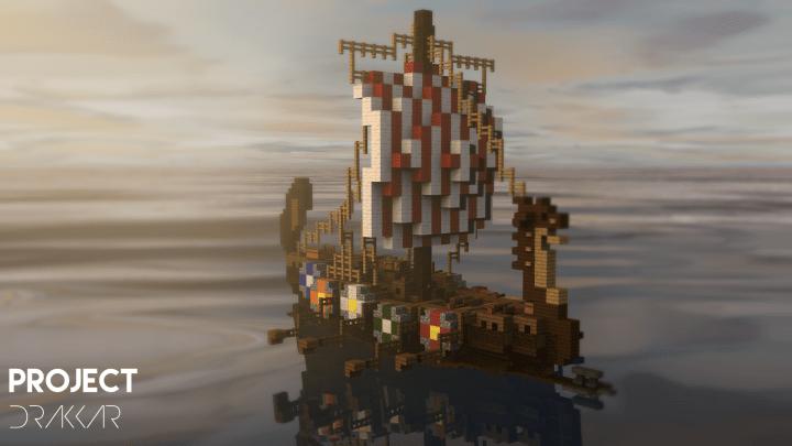 Build a sailable ship out of blocks. Viking Drakkar Ship Download Minecraft Map