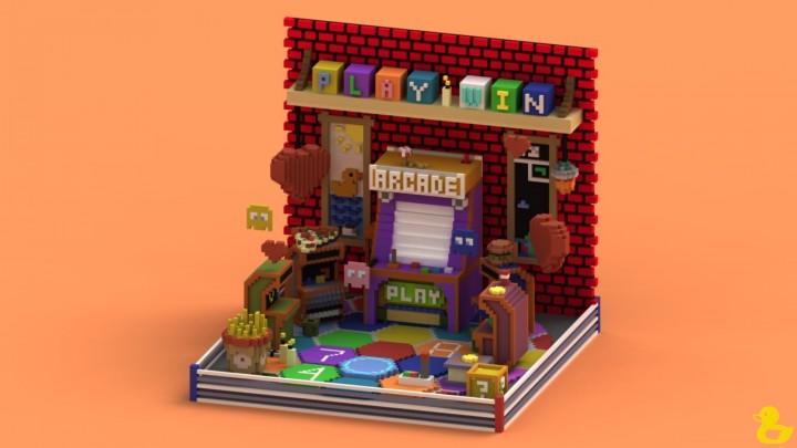 Arcade Lobby Minecraft Project