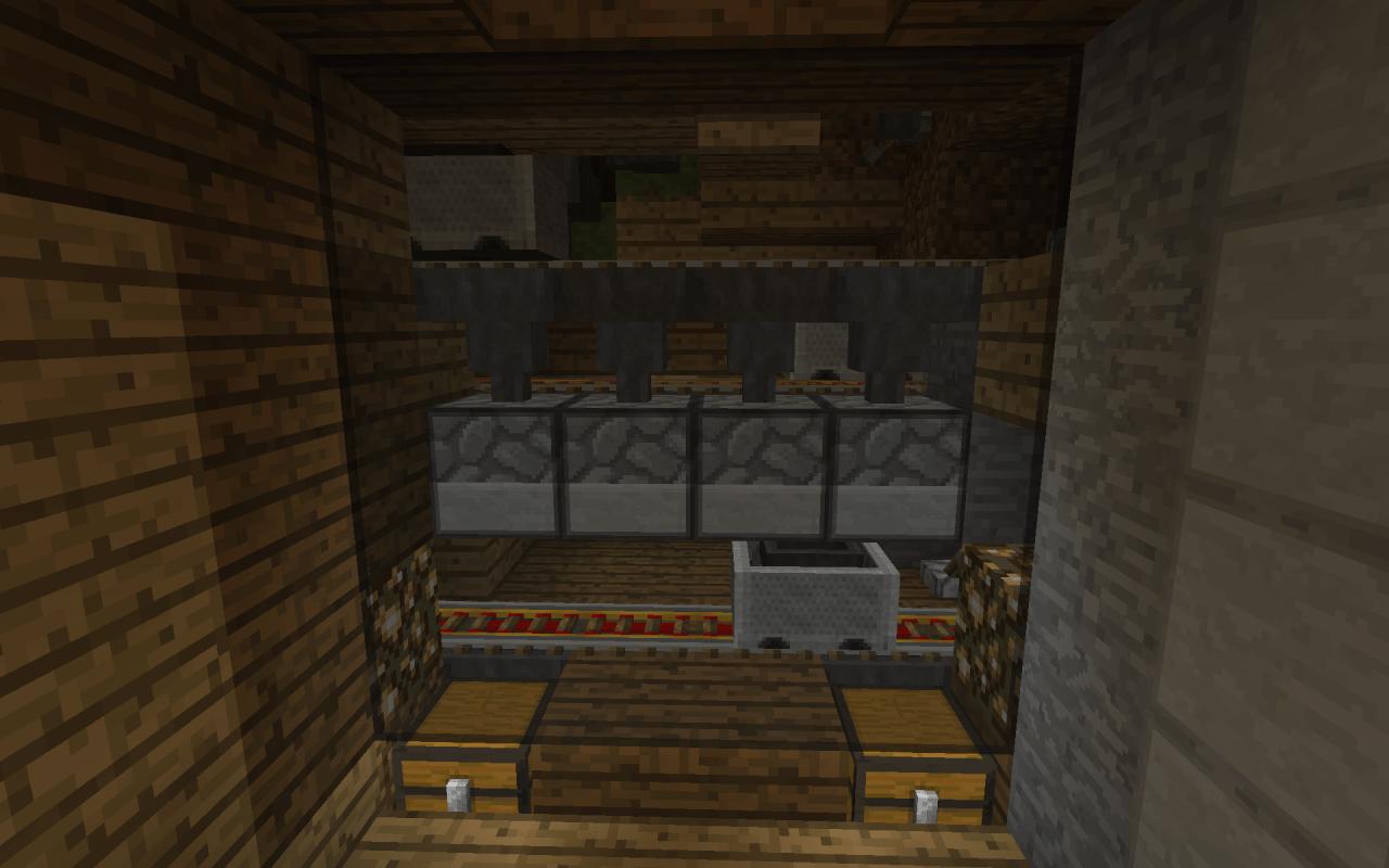 Auto Smelting furnace Minecraft Project