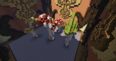 Mushroom hypixel build battle Minecraft Map