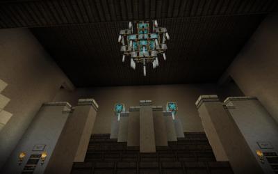 fancy mansion foyer minecraft