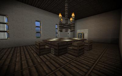 fancy room mansion minecraft dining