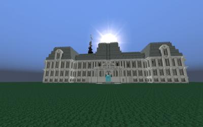 fancy mansion minecraft room