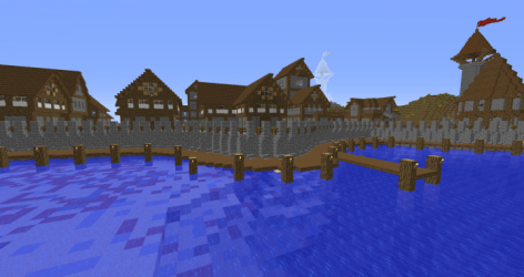 Small Medieval City Minecraft Map