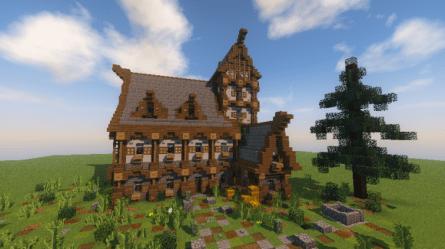 Medieval/Fantasy House Minecraft Map
