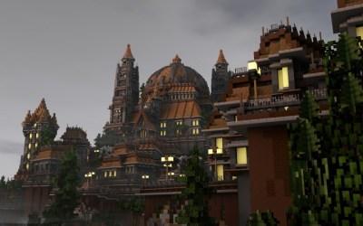 Brightwald A medieval fantasy town Minecraft Map