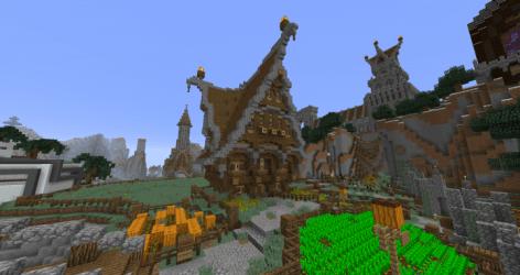 castle designs medieval steampunk gothic minecraft