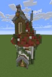 Mini Mushroom House: Mini Build Series #14 Minecraft Map