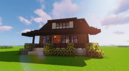Cozy Minecraft Cottage
