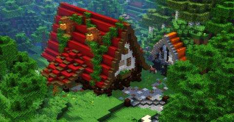 medieval survival minecraft casa