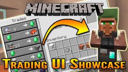 Minecraft 1 14 New Villager Trading UI Showcase