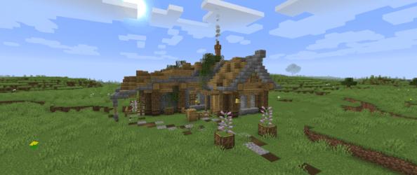 Advanced Starter House [+DOWNLOAD] Minecraft Map