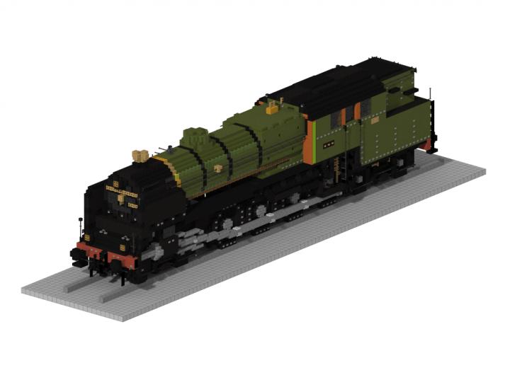 NS 6300   5:1 Steam train Minecraft Map