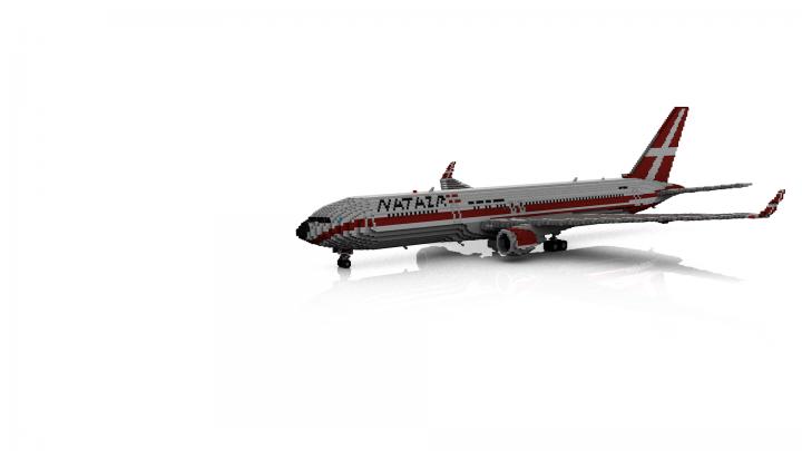 Boeing 767-300ER w/ Custom Livery (NATAIR) Minecraft Map