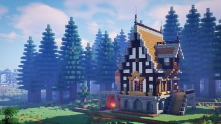 A Fantasy House Minecraft Map